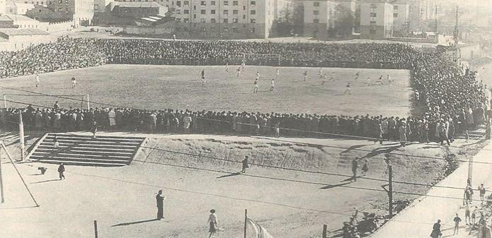 Historia: Los campos del Rayo Vallecano desde 1924 hasta 1976