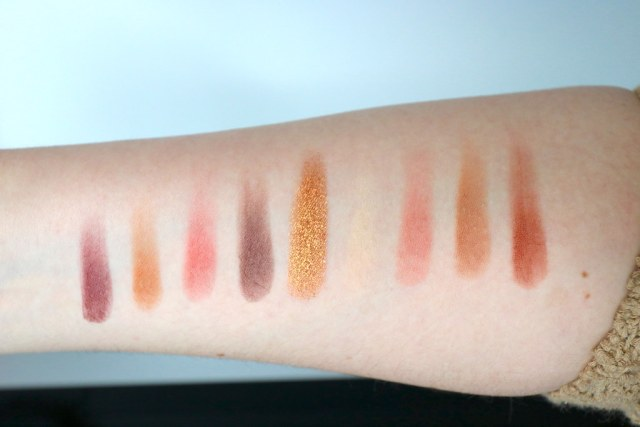 Swatches on my arm