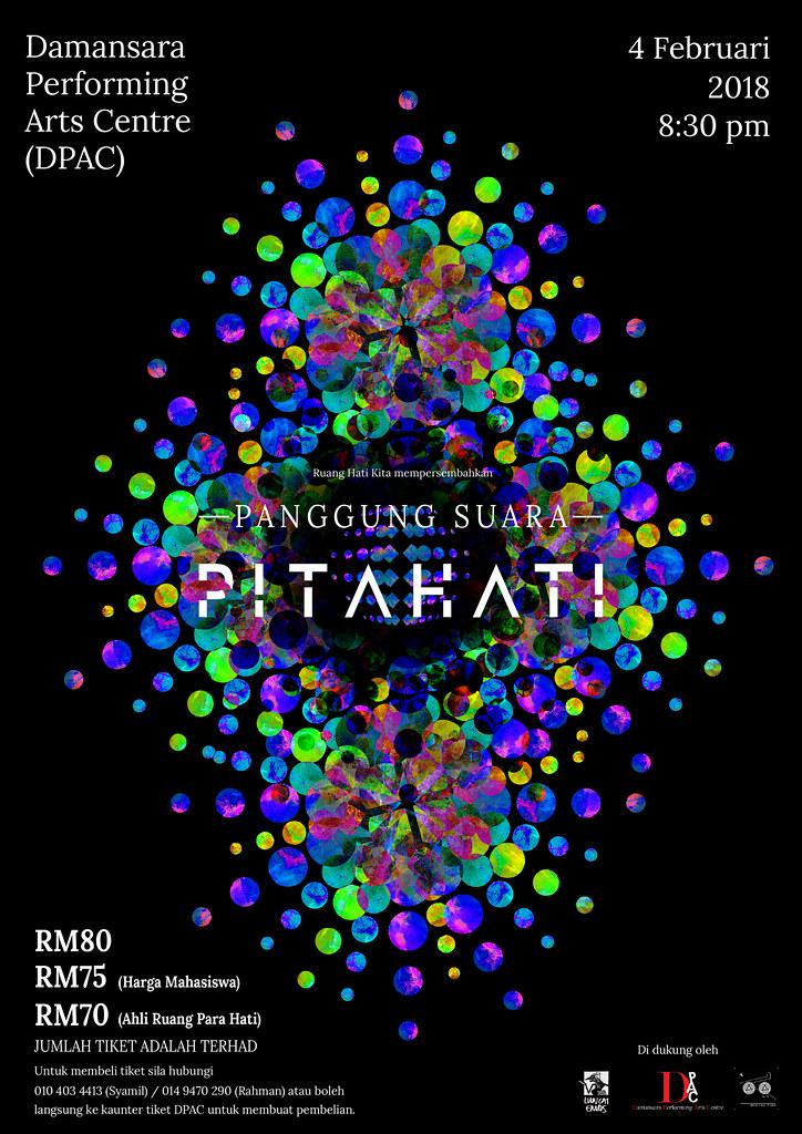 Konsert Panggung Suara Pitahati 2018 di DPAC