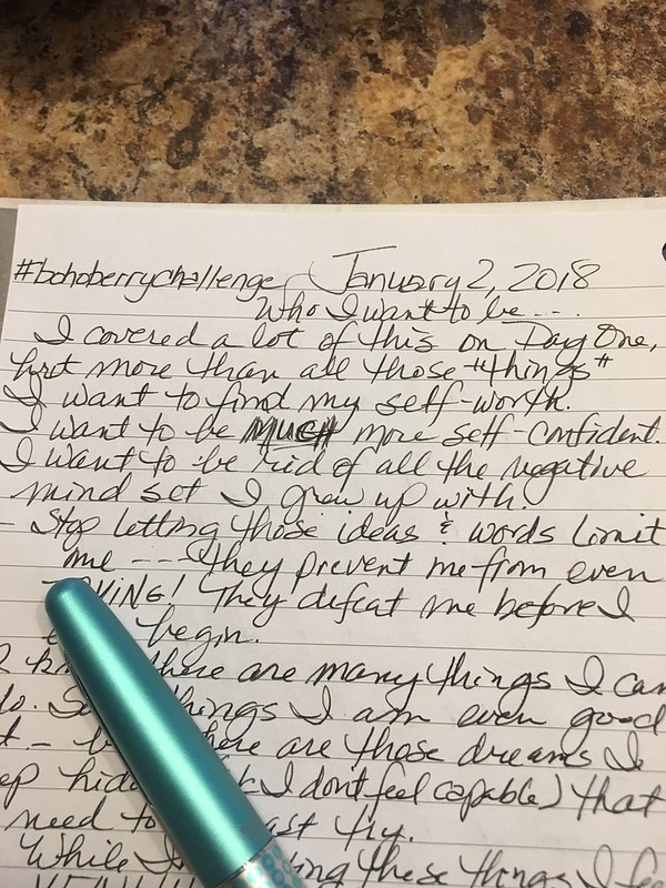 Jan 2 in my journal