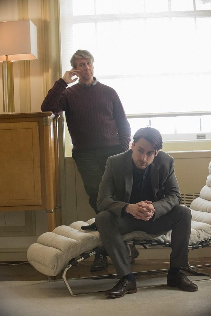 HBO Succession - Alan Ruck as Connor & Kieran Culkin as Roman