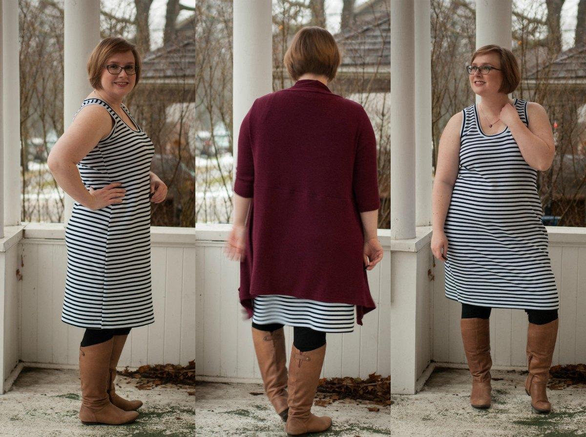 #SewStripes Nettie Dress