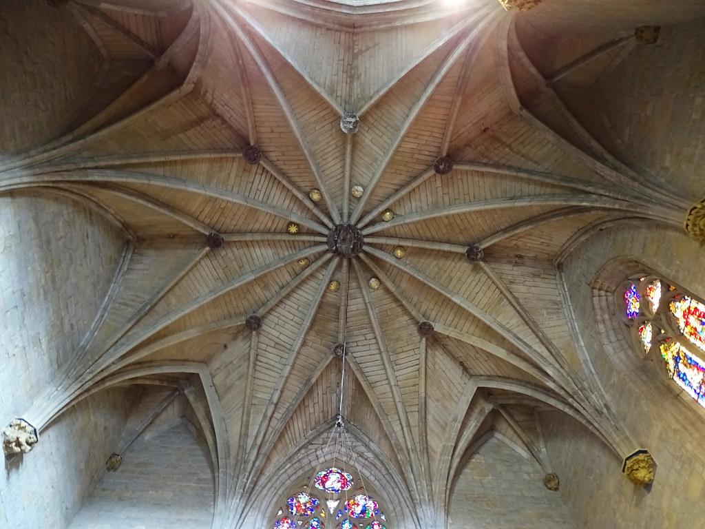 boveda estrellada Capilla de Barbazana Catedral de Santa Maria La Real Pamplona