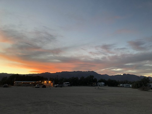 Borrego Springs - legion sunset