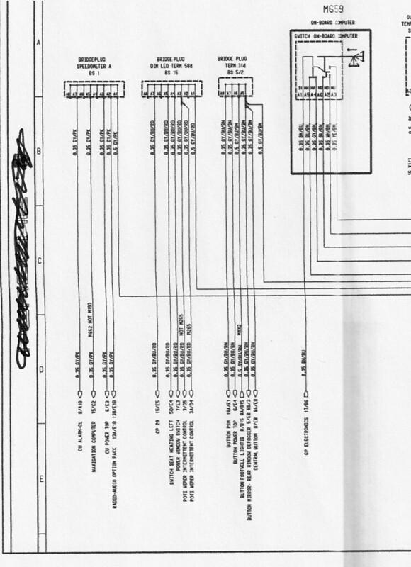 gauge cluster wiring diagram  986 forum  for porsche