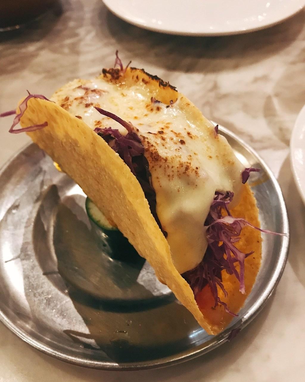 Chili con Carne Crispy Taco