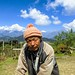 Farmer met by Community Trekking in Nepal