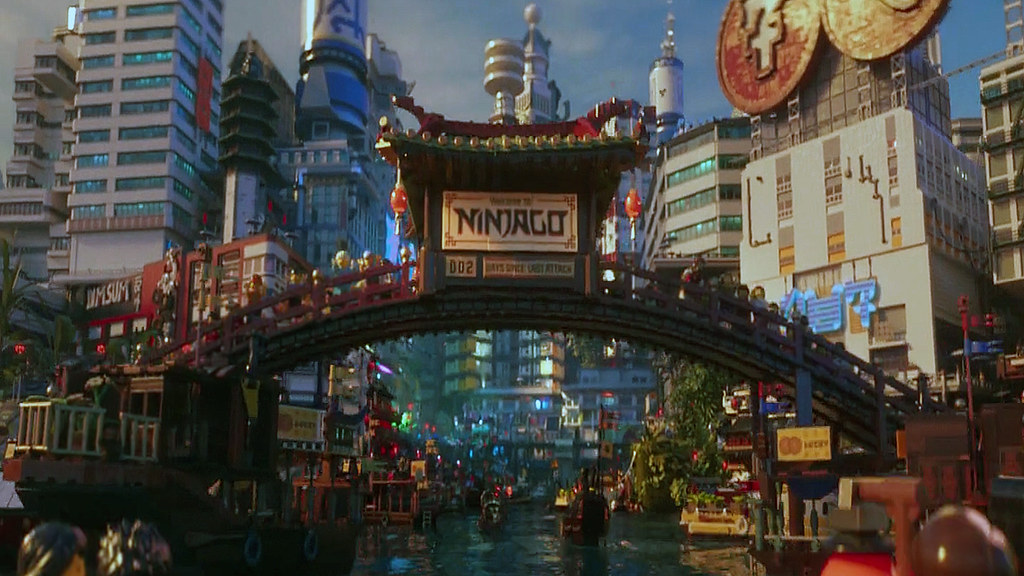 Ninjago City Docks