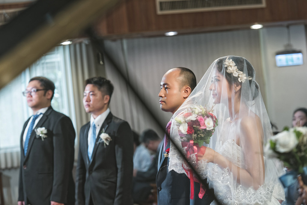 台北教堂婚攝/彰化新黑貓婚禮紀錄 -明哲&家欣[Dear studio 德藝影像攝影]
