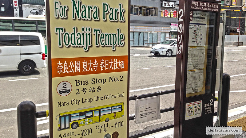 Setengah Hari di Nara - Nara City Loop Line