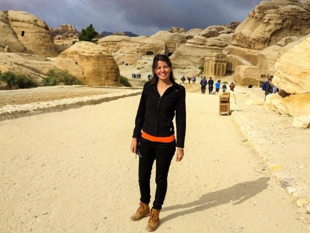 Caminando por Petra