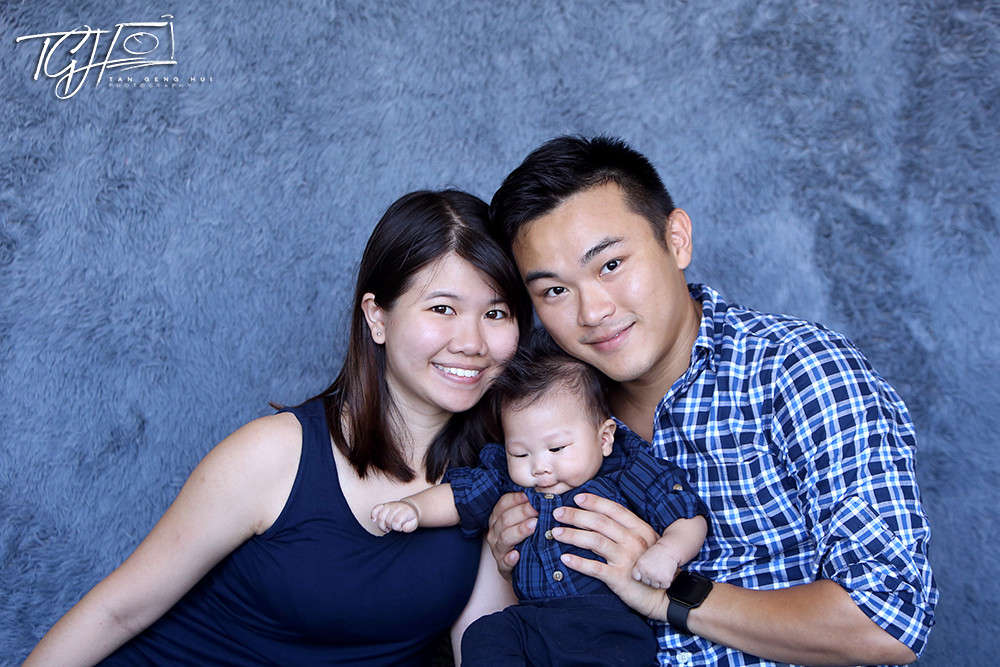 Goh Yixuan Family Photo
