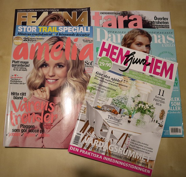 Zweedse kranten en magazines