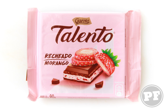 Talento Recheado Morango da Garoto por PratoFundo.com