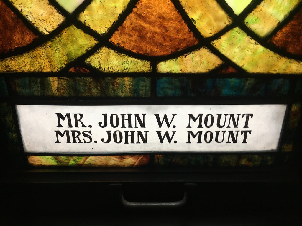 Mr. and Mrs. Mount