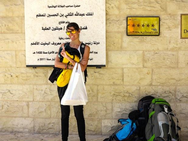Llegada a Aqaba