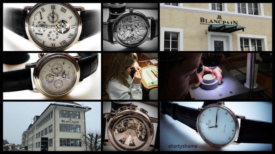 A visit to Blancpain in the Vallée de Joux