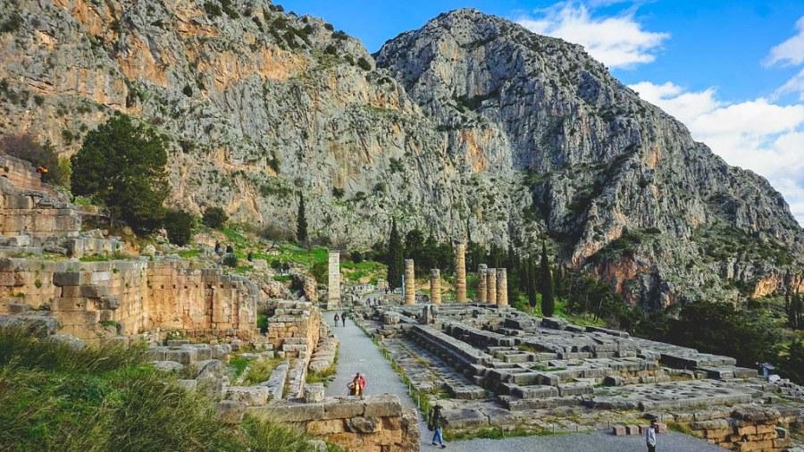 Delphi Mount Parnassus Greece (16 of 26)
