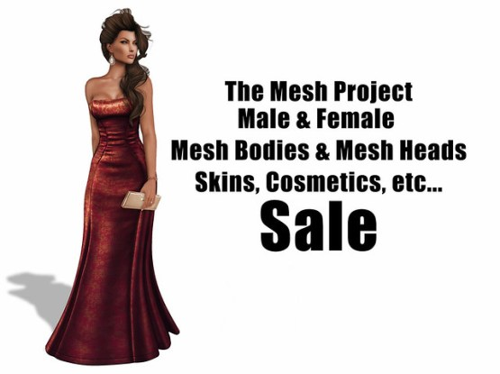 TMP Male & Female Mesh Bodies on Sale