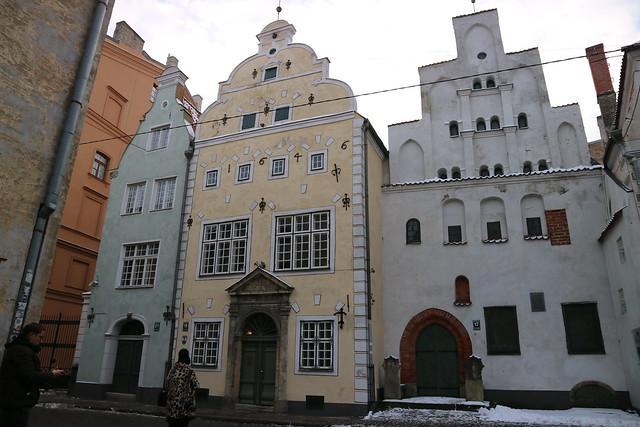 Three Brothers Riga
