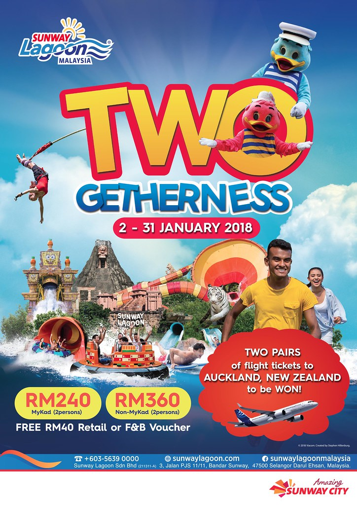 Celebrate Good Times Two-Gether At Sunway Lagoon