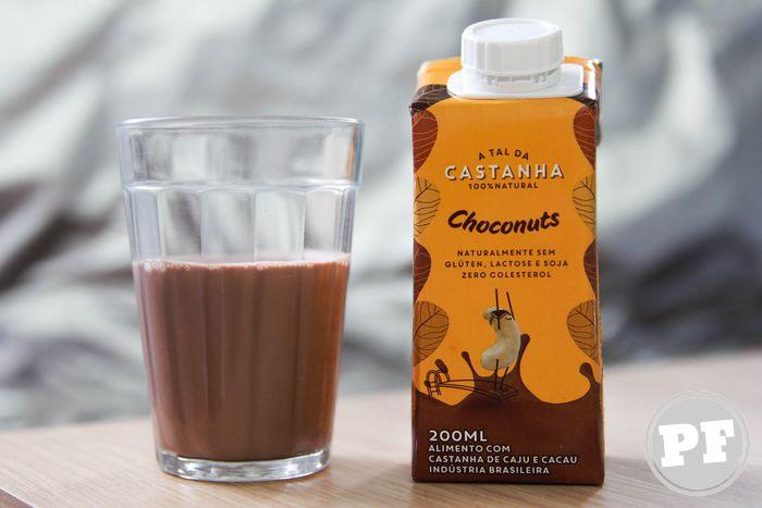 Leite Vegetal Choconuts da A Tal Castanha por PratoFundo.com