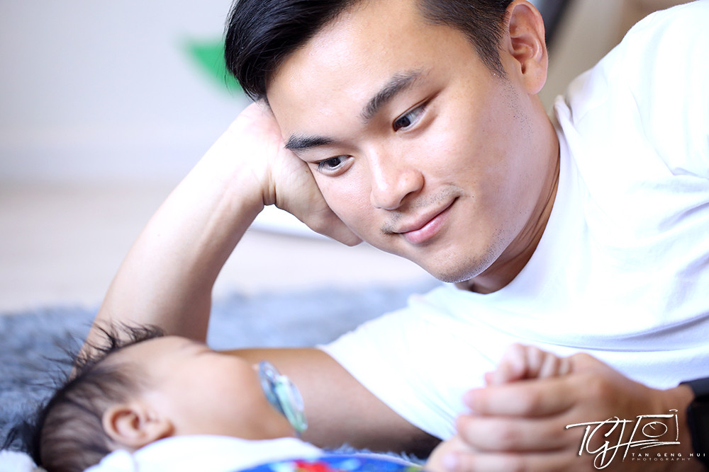 Yixuan and baby Kayden