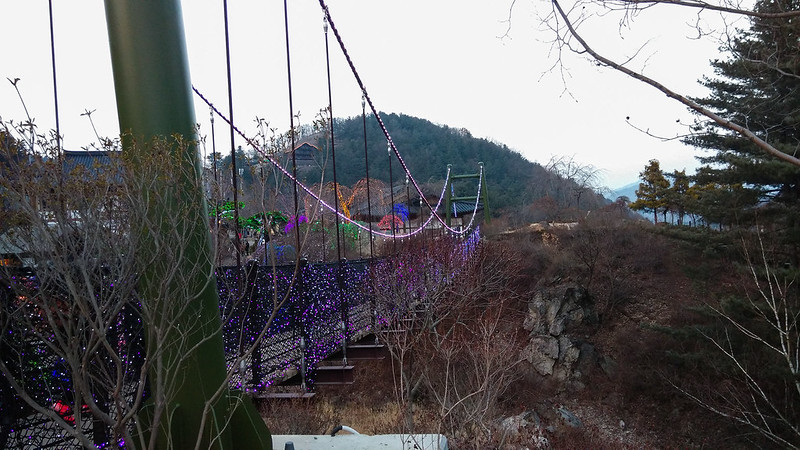 Garden of The Morning Calm - Colourful Cloud Bridge