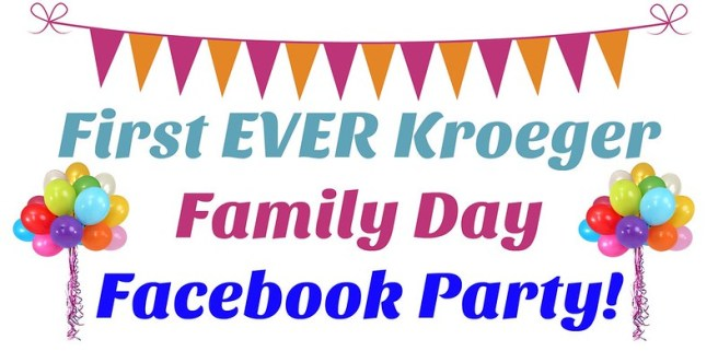 First EVER Kroeger Family Day Facebook Party