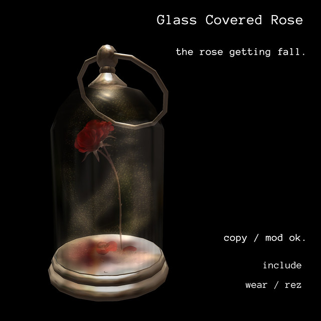 *NAMINOKE*Glass Covered Rose