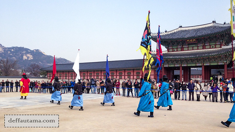 5 hari di Seoul - Guard Changing Ceremony 1