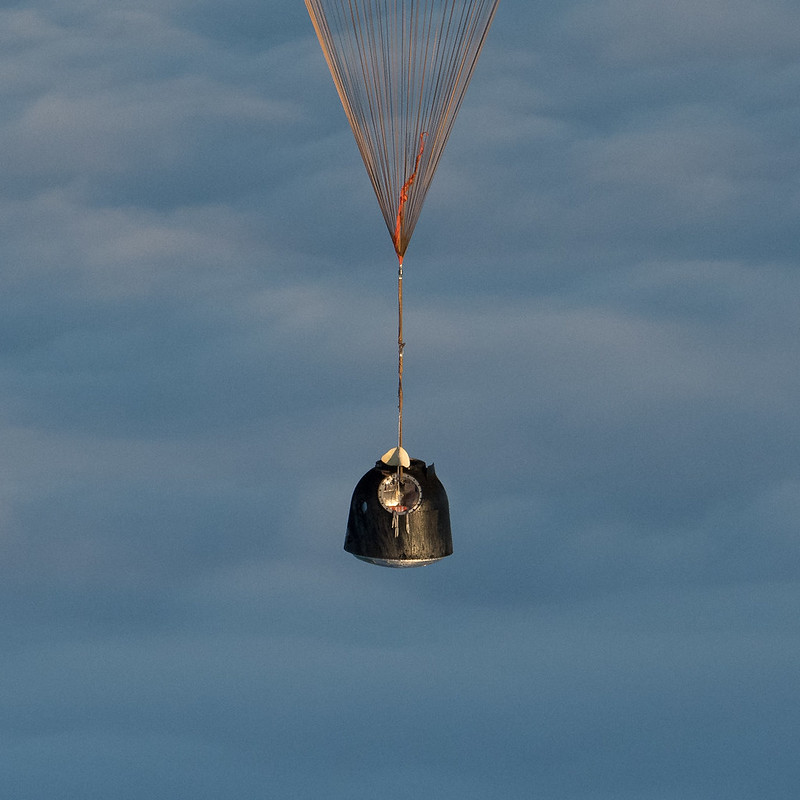 Expedition 54 Soyuz MS-06 Landing (NHQ201802280012)