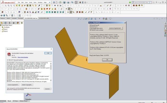Design with 3DQuickPress v6.2.4 for SolidWorks 2011-2018 full license