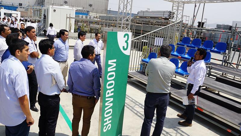 Layher presentó nueva sede en Lima