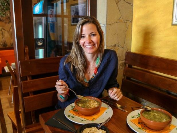 Comida en La Gomera