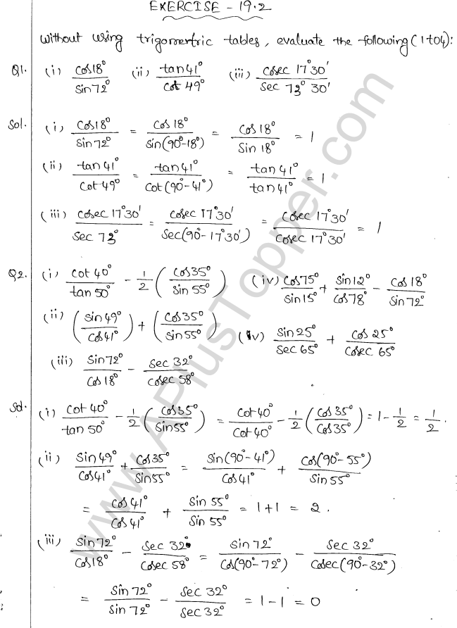 ml-aggarwal-icse-solutions-class-10-maths-ch-19-trigonometric-identities-17