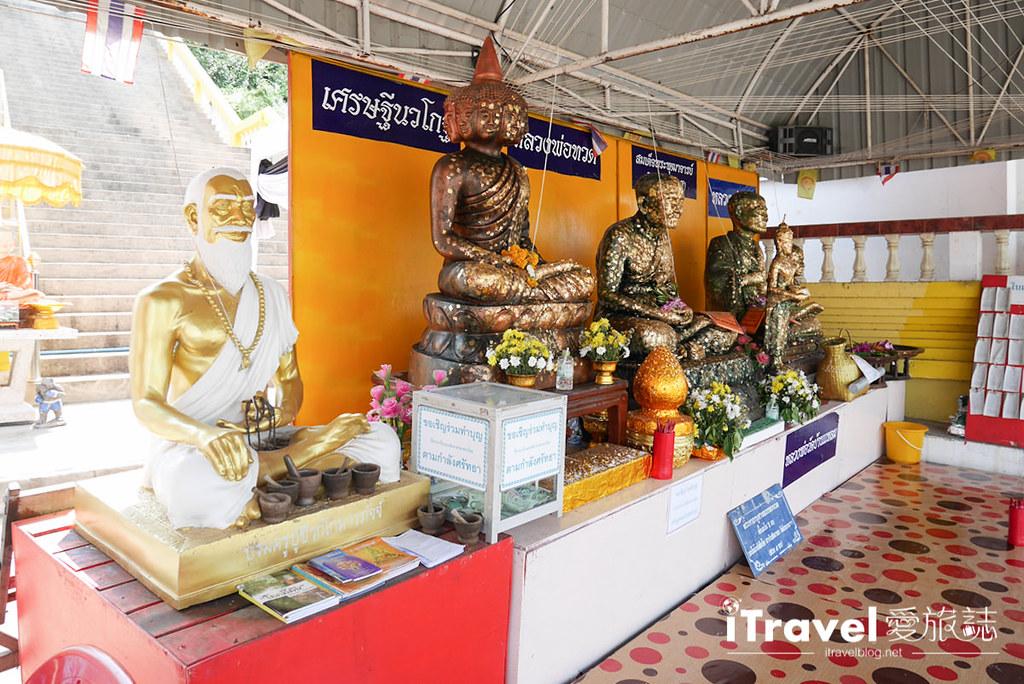 华欣景点推荐 考佬寺Wat Khao Takiap (6)