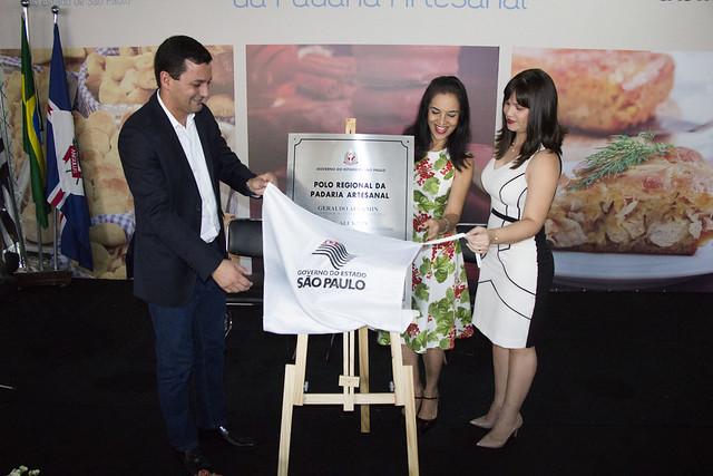 Inauguração do Polo da Padaria artesanal do Fundo Social