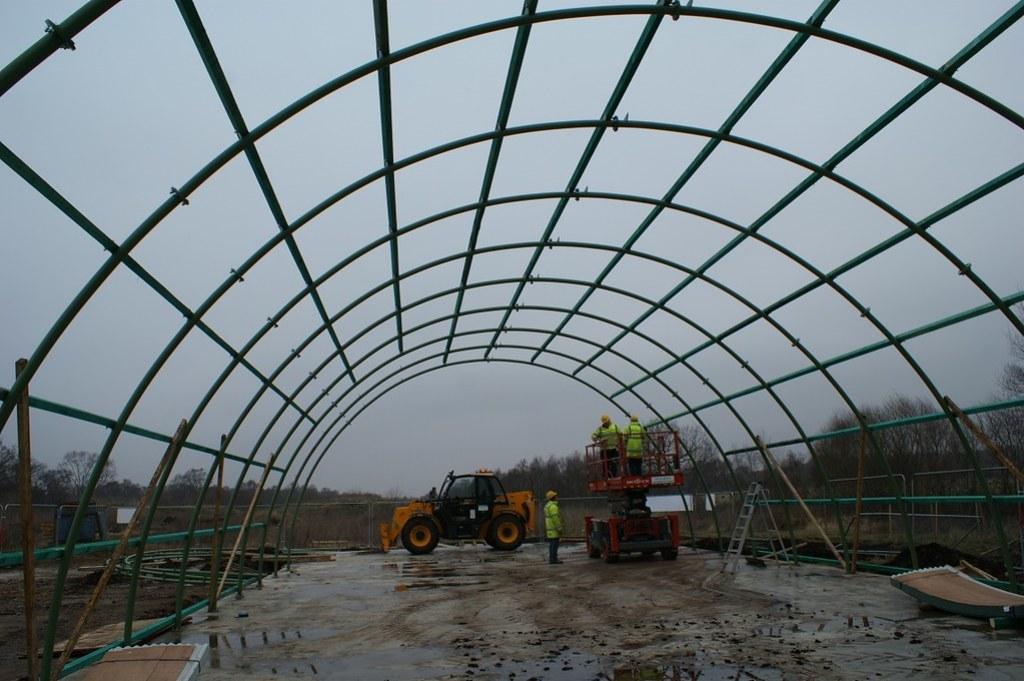 Building the new Romney Hut