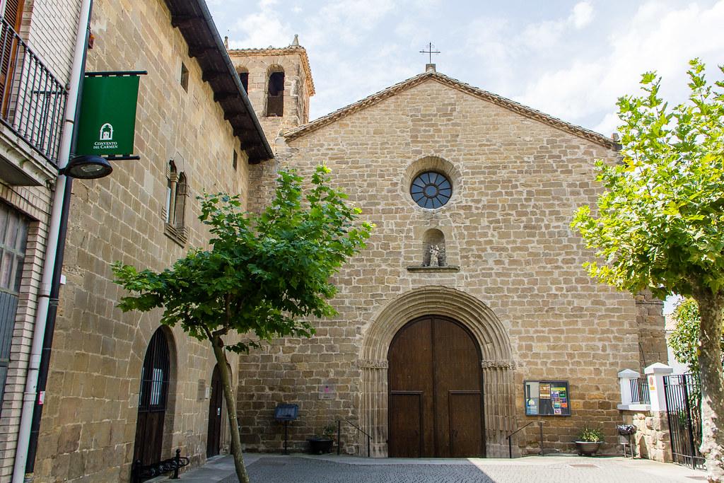 Sangüesa Convento de Nuestra Señora del Carmen Navarra 01