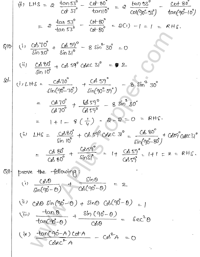 ml-aggarwal-icse-solutions-class-10-maths-ch-19-trigonometric-identities-21