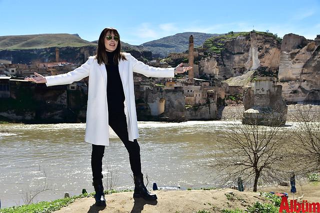 Funda Arar Malatya konseri öncesi Hasankef'i dolaştı -2