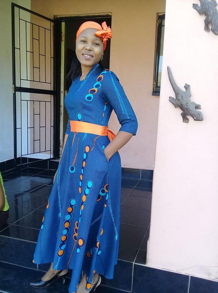 African Seshoeshoe Dresses Designs