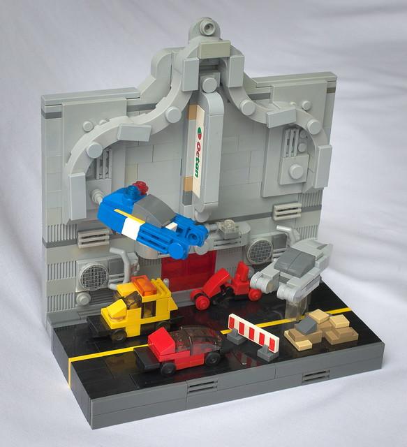 Microscale Blade Runner - A Dangerous Diorama