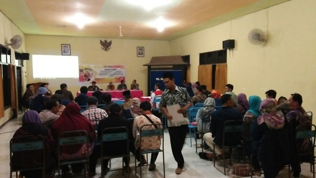 KPU Tulungaggung monitoring Rapat Pleno Rekapitulasi DPHP PPK Kecamatan Tulungagung Rapat yang digelar Jumat (9/3)