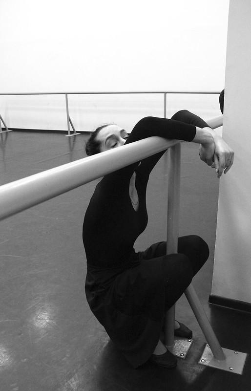 Анна Игнатьева. В балетной студии.
