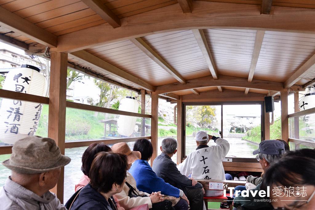京都赏樱景点 伏见十石舟 (42)
