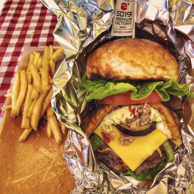 和牛漢堡 Wagnu Burger 薯條 French Fries