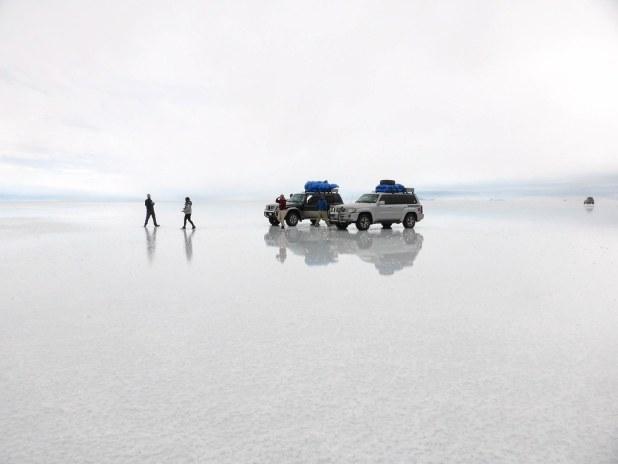 Tour por el salar de Uyuni