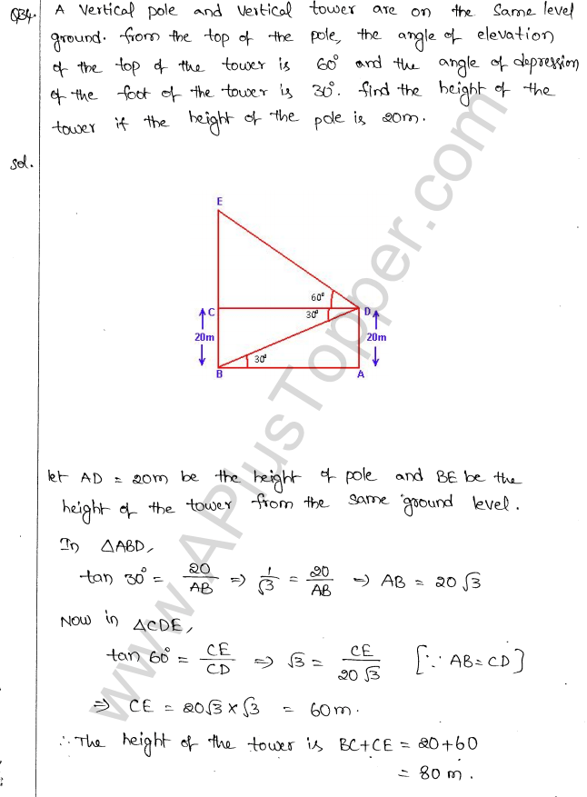 ml-aggarwal-icse-solutions-for-class-10-maths-chapter-21-heights-and-distances-37